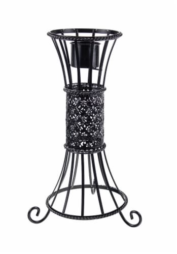 Echo Valley Seville Globe Stand - Black Perspective: front