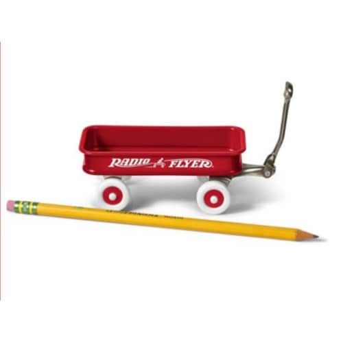 Radio Flyer W1 Miniature Classic Wagon Perspective: front