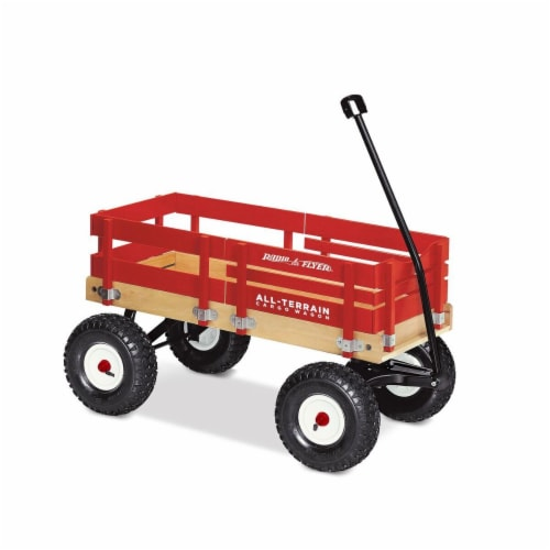 Radio Flyer All-Terrain Cargo Wagon Perspective: front