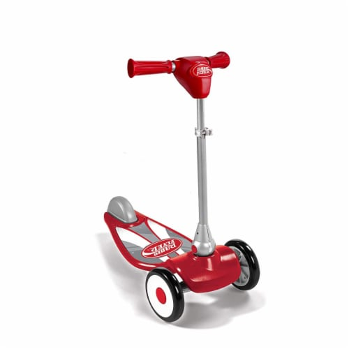 Radio Flyer My 1st Scooter Sport Model with 3 Wheel Design for Ages 2 to 5, Red Perspective: front