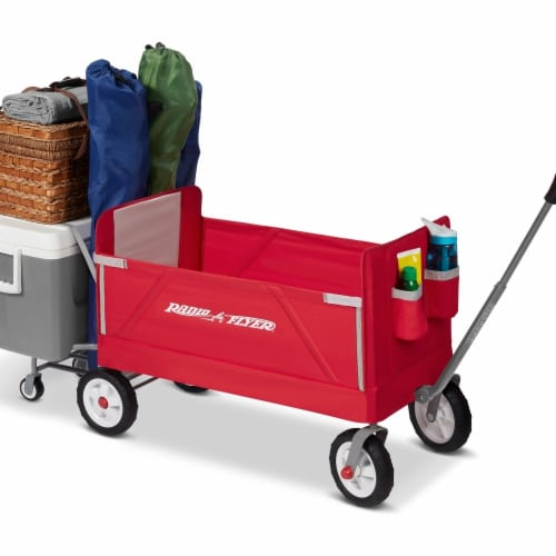Radio Flyer  3-in-1 Tailgater Wagon Perspective: front