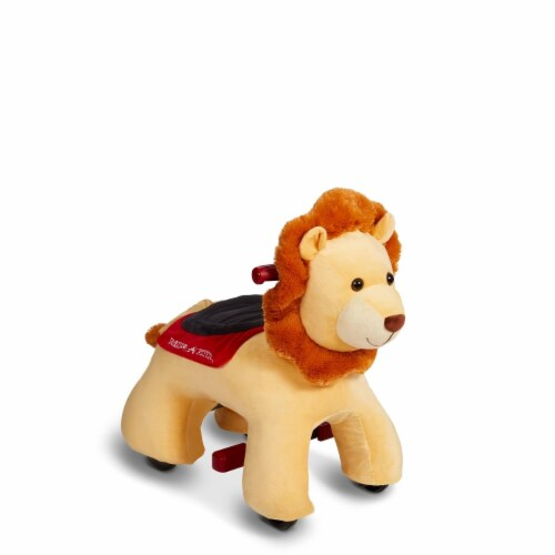 Radio Flyer Rory - Electric Ride on Lion with Sounds Perspective: front