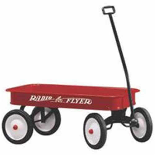 Radio Flyer Wagon Toy Steel Body 36X17.5X4 18 Perspective: front