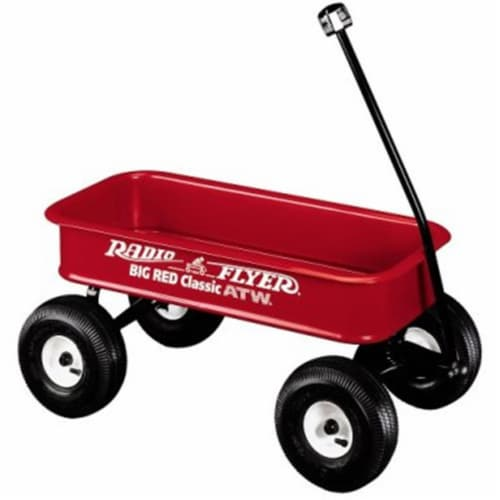 Radio Flyer 1800 Big Red Classic ATW Perspective: front
