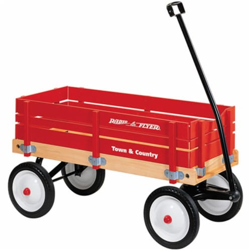 Radio Flyer 24 Town And Country Wagon Perspective: front