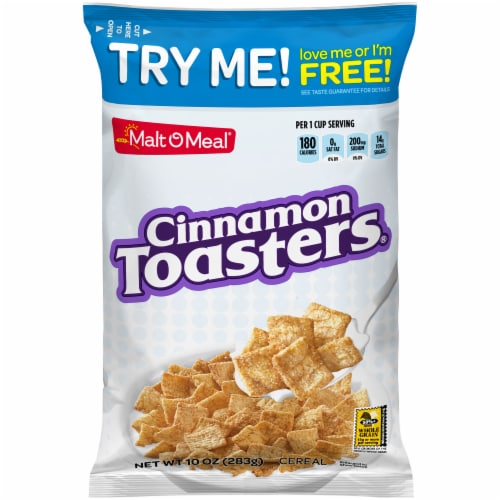 Malt-O-Meal Cinnamon Toasters Cereal Perspective: front