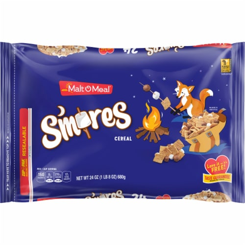 Malt-O-Meal S'mores Cereal Perspective: front