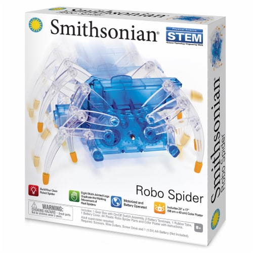 NSI International Smithsonian Robo Spider Perspective: front