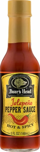 Boar's Head Jalapeno Pepper Sauce Perspective: front