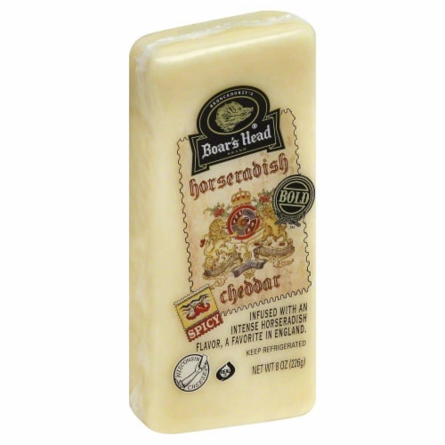 Boar's Head Horseradish Cheddar Perspective: front