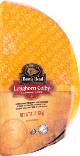 Boar's Head Longhorn Colby Cheese Perspective: front