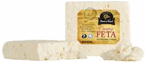 Boar's Head Creamy Feta Cheese Perspective: front