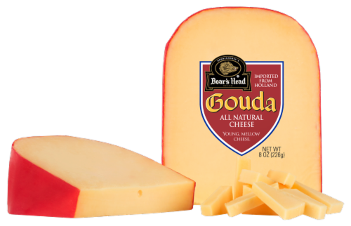 Boar's Head Gouda Cheese Perspective: front