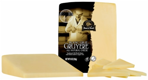 Boar's Head Gruyere Cheese Perspective: front