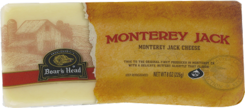 Boar's Head Monterey Jack Cheese Perspective: front