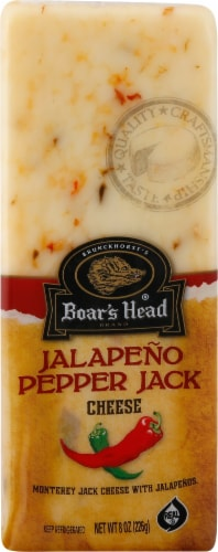 Boar's Head Monterey Jack with Jalapeno Cheese Perspective: front