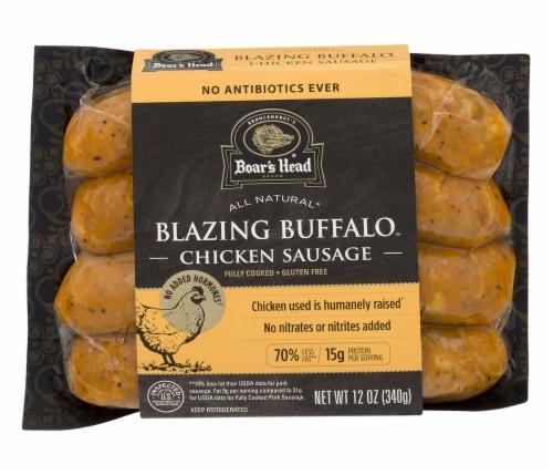 Boar's Head Blazing Buffalo Chicken Sausage Perspective: front