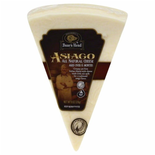 Boar's Head Asiago Cheese Perspective: front