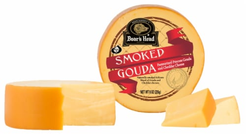 Boar's Head Smoked Gouda Cheese Perspective: front