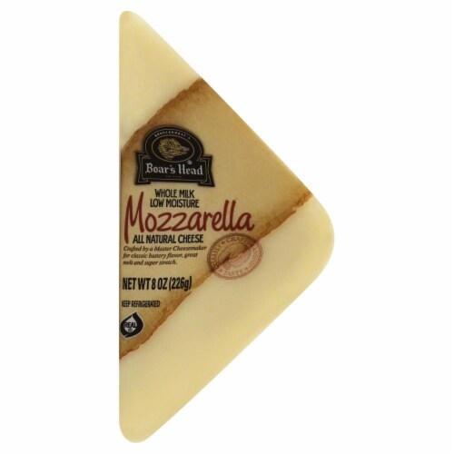 Boar's Head Whole Milk Mozzarella Cheese Perspective: front