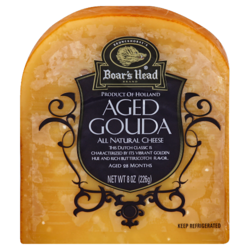 Boar's Head Aged Gouda Perspective: front
