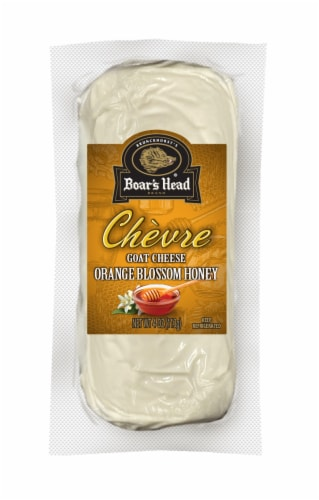 Boar's Head Honey Chèvre Goat Cheese Log Perspective: front