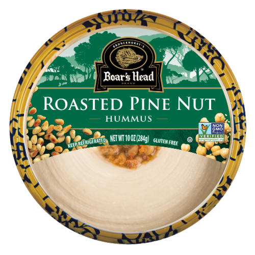 Boar's Head Roasted Pine Nut Hummus Perspective: front
