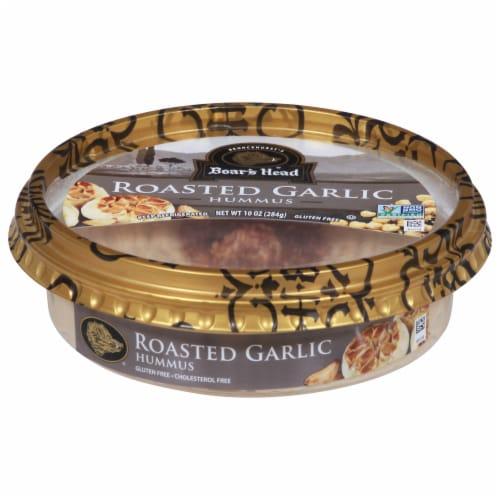 Boar's Head Roasted Garlic Hummus Perspective: front