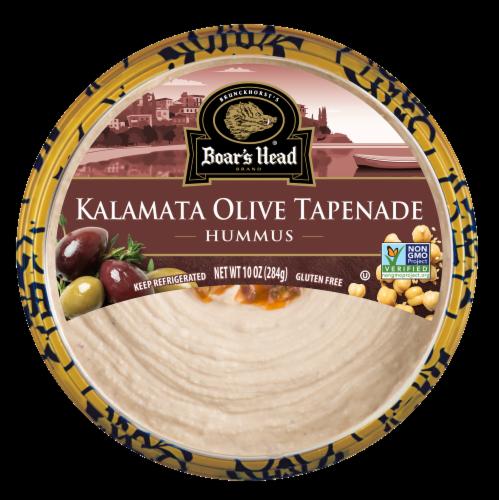 Boar's Head Kalamata Olive Tapanade Hummus Perspective: front