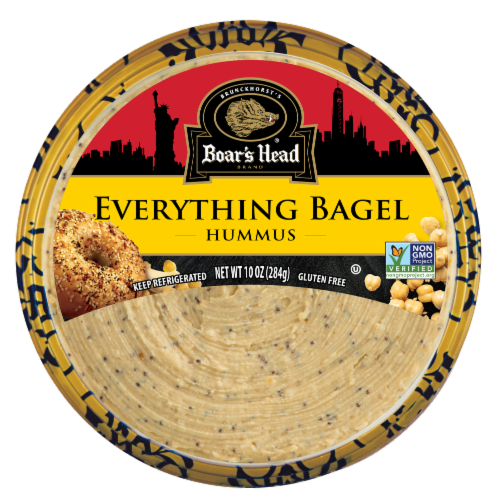 Boar's Head Everything Bagel Hummus Perspective: front