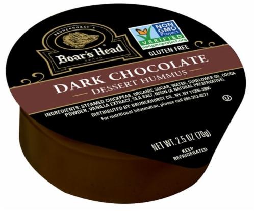 Boar's Head Dark Chocolate Dessert Hummus Perspective: front
