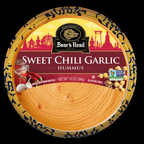 Boar's Head Sweet Chili Garlic Hummus Perspective: front
