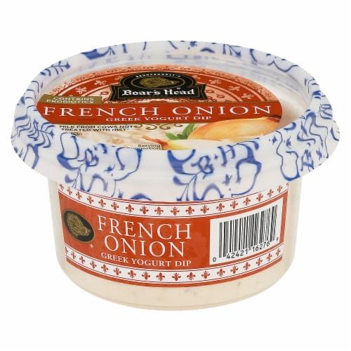 Boar's Head French Onion Greek Yogurt Dip Perspective: front