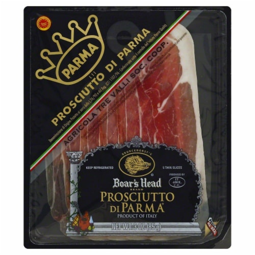 Boar's Head Prosciutto Di Parma Perspective: front