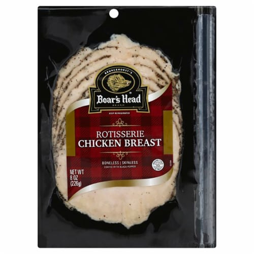 Boar's Head Rotisserie Chicken Breast Perspective: front