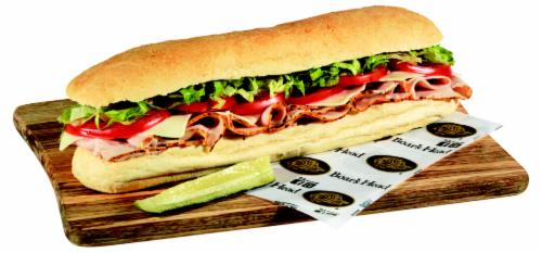 Boar's Head Turkey Sandwich Perspective: front