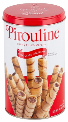 Creme De Pirouline Chocolate Hazelnut Creme Filled Wafers Perspective: front