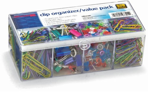 Officemate Clip Organizer Value Pack Perspective: front
