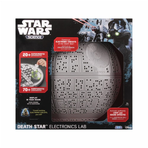 Uncle Milton Death Star Electronics Lab Kit Perspective: front