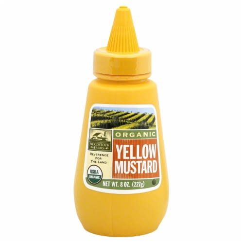 Woodstock Farms Organic Yellow Mustard Perspective: front
