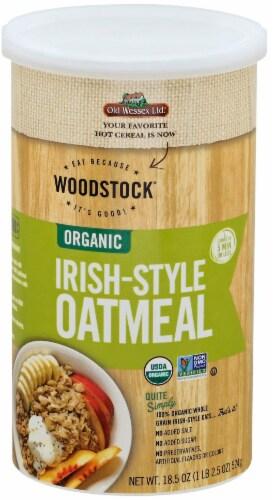 Woodstock Organic Irish-Style Oatmeal Perspective: front