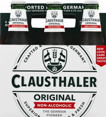 Clausthaler Premium Non-Alcoholic Beer Perspective: front