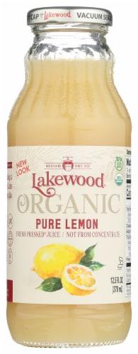 Lakewood Organic Pure Lemon Juice Perspective: front