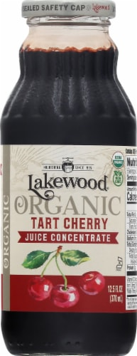 Lakewood Organic Tart Cherry Concentrate Juice Beverage Perspective: front