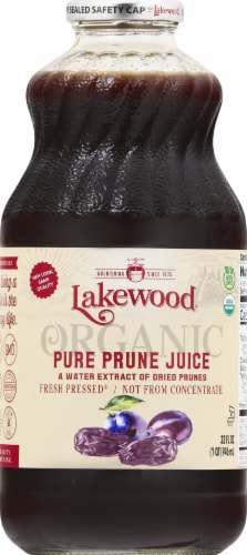 Lakewood Organic Pure Prune Juice Perspective: front