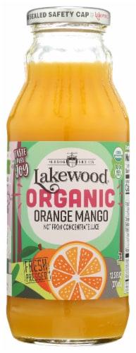 Lakewood Organic Orange Mango Fruit Juice Perspective: front