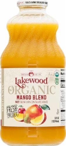 Lakewood Organic Mango Juice Perspective: front
