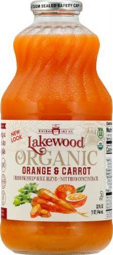 Lakewood Orange & Carrot Juice Perspective: front