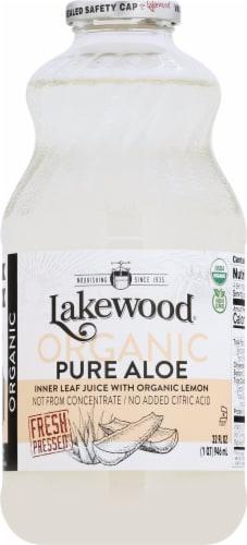 Lakewood Organic Pure Aloe Juice Perspective: front