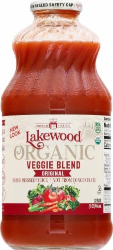 Lakewood Organic Super Veggie Juice Perspective: front